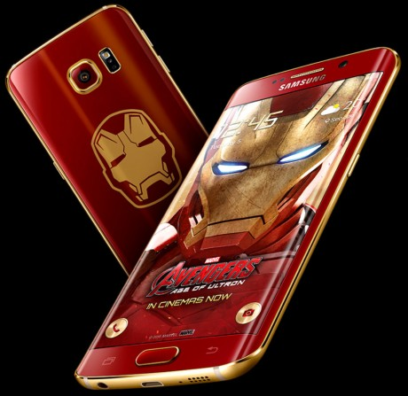 Samsung Debuts Iron Man Edition Of Galaxy S6 Edge Phone Scoop