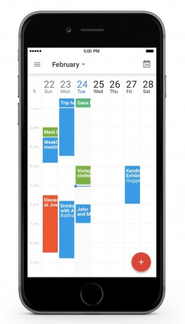 google calendar for ios schedules an update phone scoop