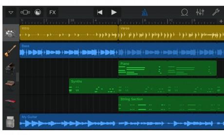 Apple's GarageBand Scores Alchemy Synthesizer (Phone Scoop)