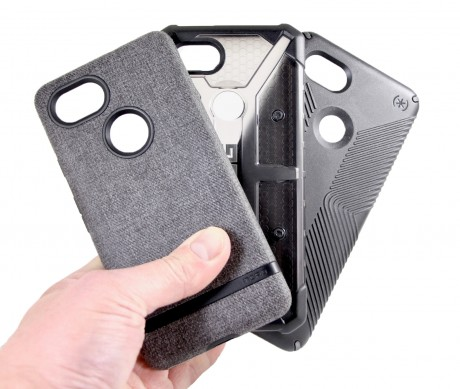 promo code c4dc4 6db1d Review: UAG, Speck, and Incipio Cases for the Google Pixel 2 XL ...