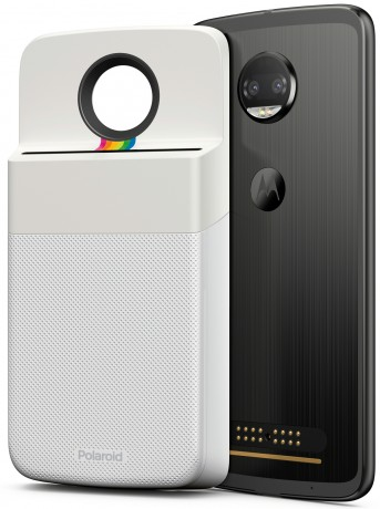 5893c283e958b Motorola and Polaroid today announced the Insta-Share Printer, a Moto Mod  that lets people instantly print and share images captured with their Moto Z  ...