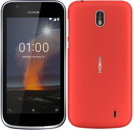 newest aeb9d 58b80 Nokia 1 Runs Android Go and Brings Back Nokia's Xpress-On Covers ...