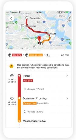 Google Maps Transit Navigation Adds Wheelchair-Compatible