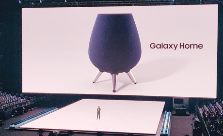 Samsung Shows Off Galaxy Home, a Bixby-Powered Speaker