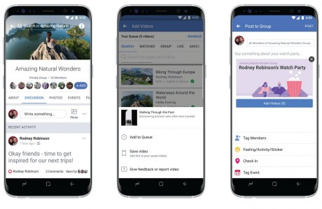 Facebook Expands Watch Party to All Pages