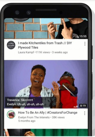 YouTube Will Now Play Video Previews Right Away On Mobile Apps