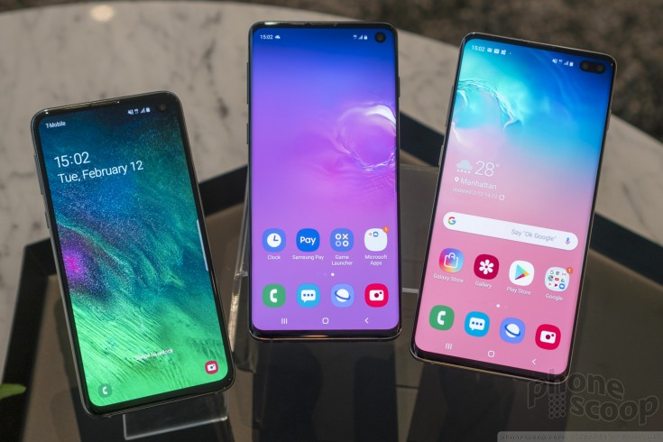 QnA VBage Hands On with the Samsung Galaxy S10 Series