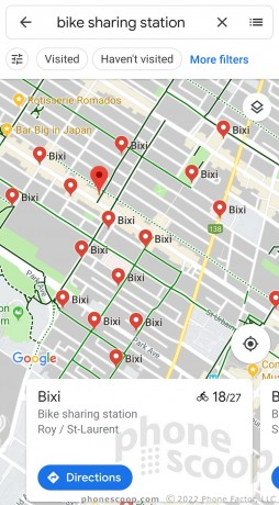 Google Maps Adds Real Time Bike Sharing Info Phone Scoop