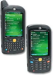 Today Motorola Announced The Latest Addition To It Highly Rugged Roster Of Enterprise Digital Istants Mc55 This Smartphone Runs Windows Mobile 6 1