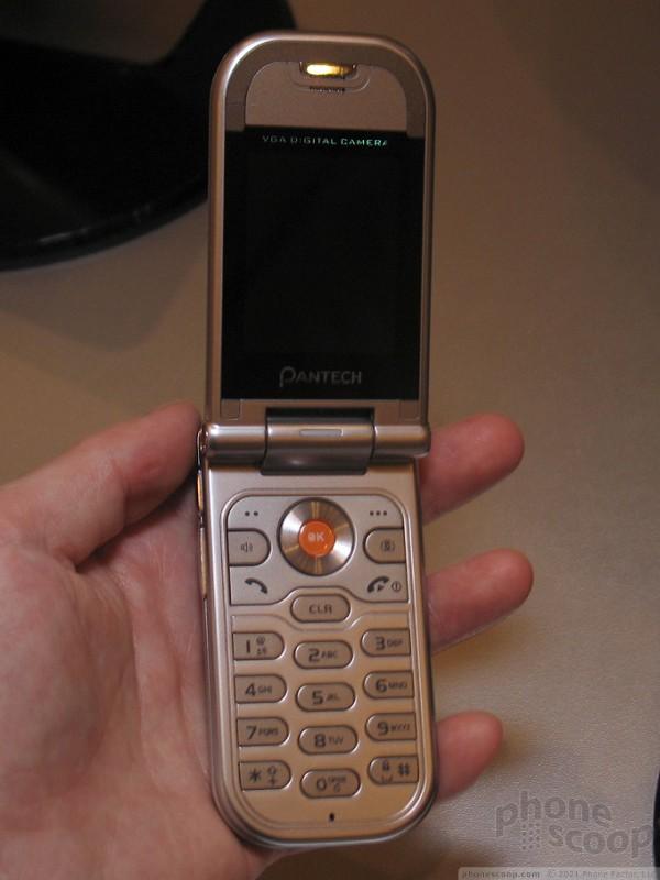 CES 2006: Pantech 1 : Pantech 1 (Phone Scoop)
