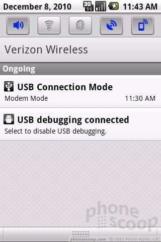 Review: LG Vortex: Menus : Menus (Phone Scoop)