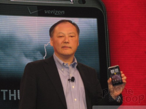 Peter Chou from HTC