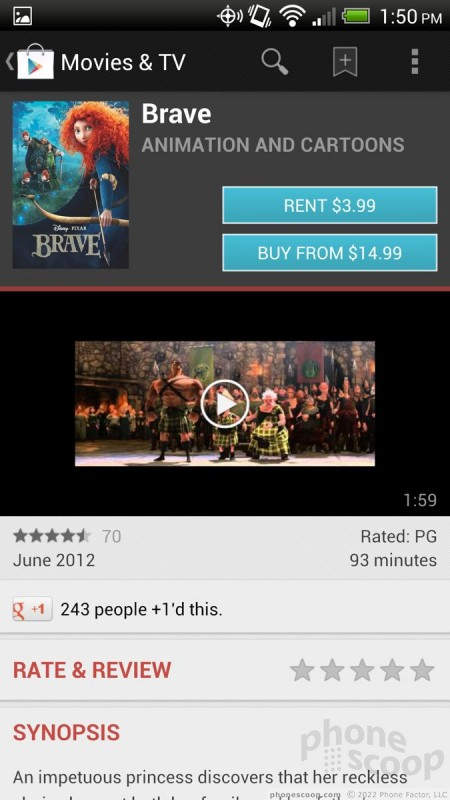 Review: HTC Droid DNA for Verizon Wireless: Extras : Extras