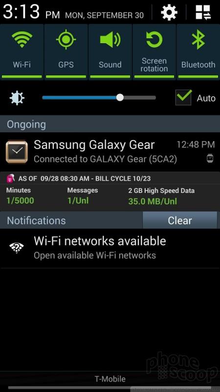 Review: Samsung Galaxy Note 3 for Verizon: Basics : Basics