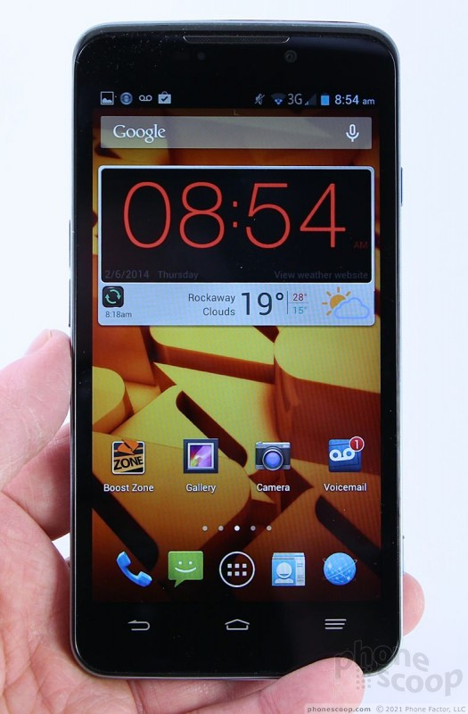 Review: ZTE Max for Boost Mobile (Phone Scoop)