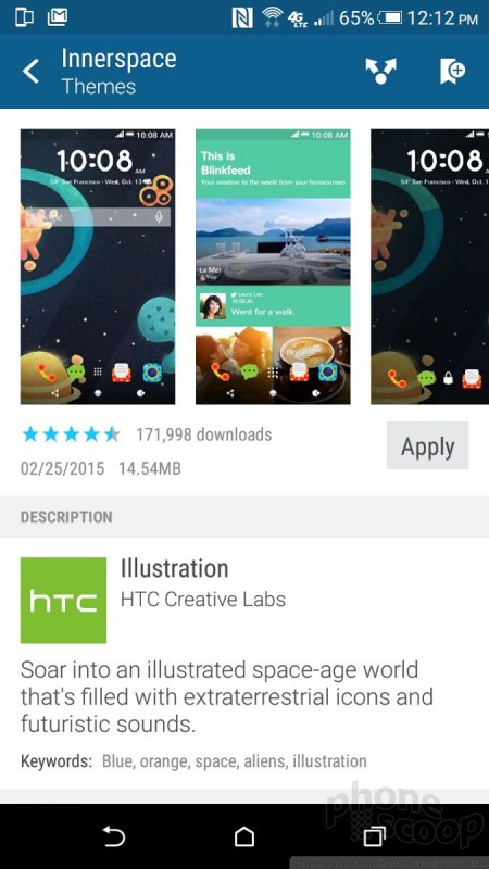 Review: HTC Desire 626 for AT&T: Software : Software (Phone