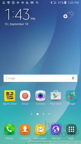 Review Samsung Galaxy Note 5 For Sprint Software Software Phone Scoop