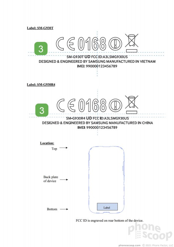 Samsung Galaxy S7 Clears FCC with Single Approval (Phone Scoop)
