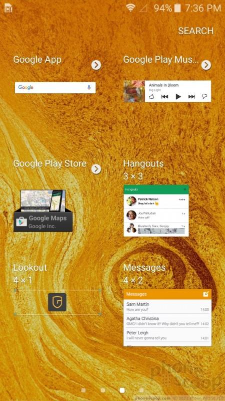 Samsung J3 Preinstalled Apps
