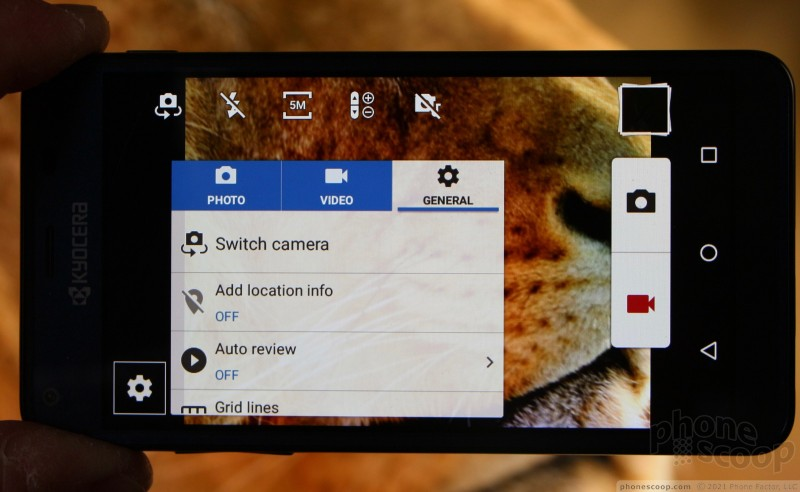 Review: Kyocera Hydro Reach for Boost Mobile: Software