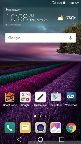 Review: LG Stylo 2 for Boost Mobile: Software : Software
