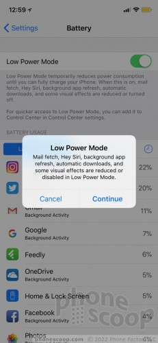 Low-Power Mode