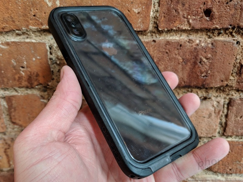 new product 46e6e 51cbd Review: Catalyst Waterproof Case for iPhone X (Phone Scoop)