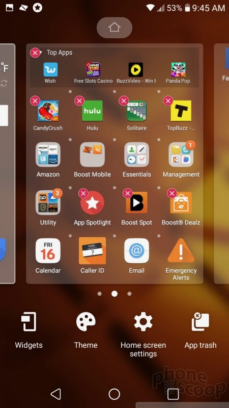 Review: LG Tribute Dynasty for Boost Mobile: Software