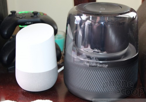 With Google Home