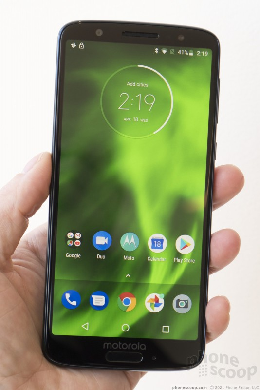 Hands On with the Moto g6 (Phone Scoop)
