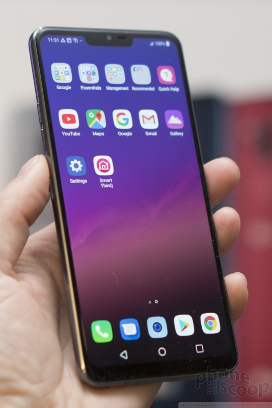 Hands On with the LG G7 ThinQ (Phone Scoop)