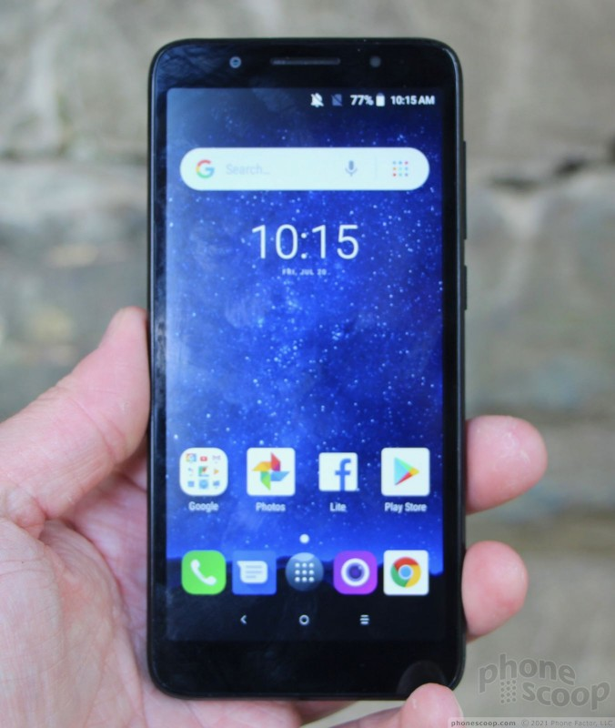 Review: Alcatel 1x with Android Go (Phone Scoop)