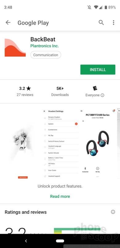 Review: Plantronics BackBeat Fit 3100 (Phone Scoop)
