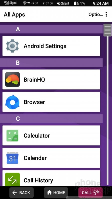 Review: Jitterbug Smart2 for GreatCall: Software : Software
