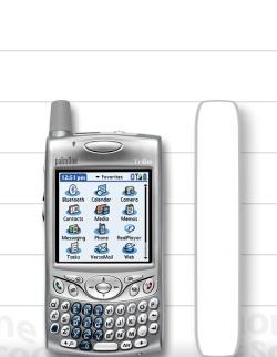 Compare Size: BlackBerry 8700 vs  HTC 8125 / 8100 / MDA (USA